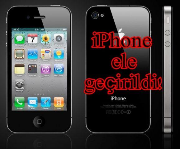110 adet iphone ele geçirildi!