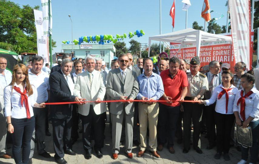 13. Edirne Ticaret Sanayi ve İş Fuarı açıldı