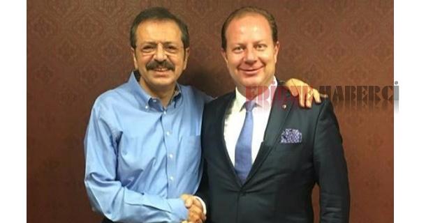 Öztürk Hisarcıklıoğlu ile görüştü!