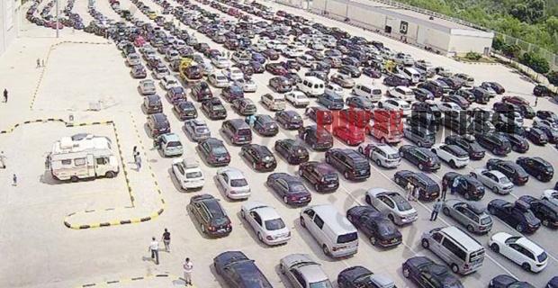 Ortalama 3 bin 500 araç!