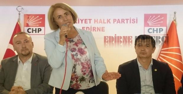 """Köse """"Edirne'li kadınlar dirençli ve güçlü!"""""""