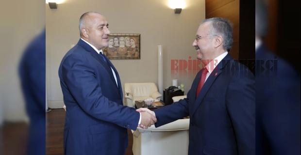 Vali Özdemir Bulgaristan Başbakanı ile görüştü.