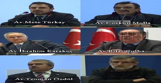 """Avukatlar """"Türk kelimesinin kaldırılması endişe verici"""""""