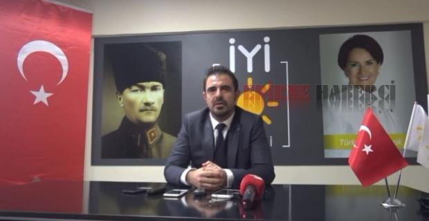 """Edine İYİ Parti """"Müezzinoğlu özür dilemeli!"""""""