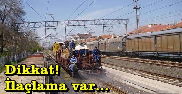 16-25 Nisan arası demiryolları'na  dikkat!