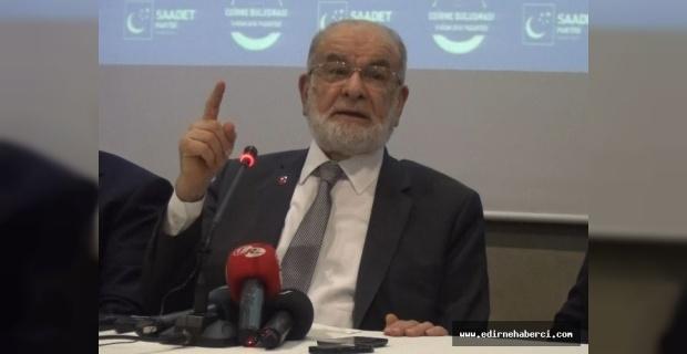 """Genel Başkan Karamollaoğlu """"sırada Türkiye var!"""""""