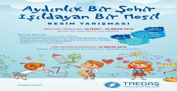 TREDAŞ'tan resim yarışması!
