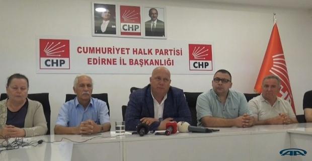 CHP İl Başkanı tepkili!