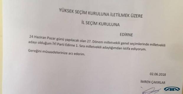 İYİ Parti'de taktiksel istifa!