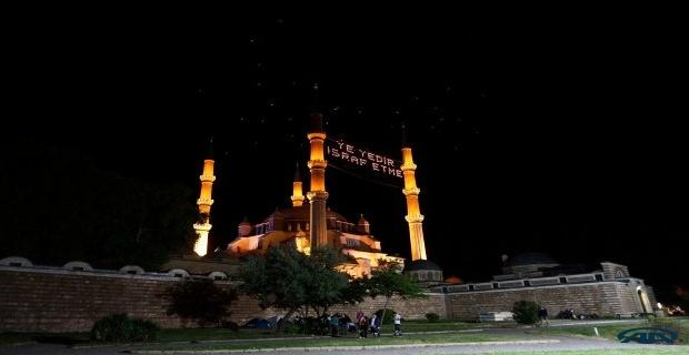 Selimiye'de Kur'an ziyafeti!