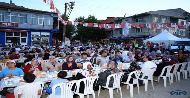 Süloğlu'nda 3 bin kişilik iftar!