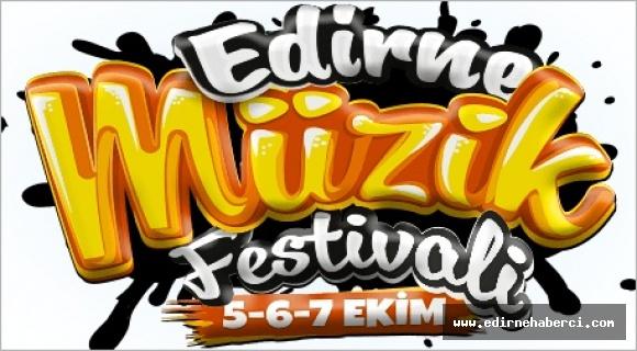 Müzik festivali 5-6-7 Ekim'de Edirnelilerle buluşacak!