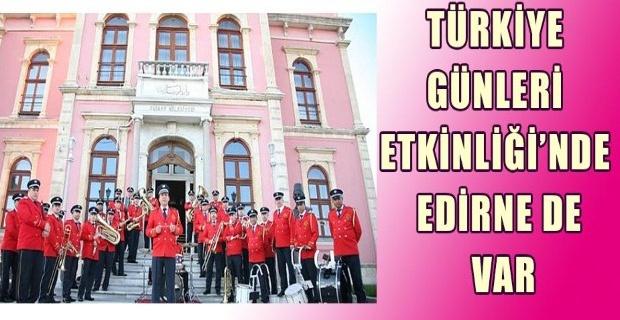 Tiran'da Edirne günleri!