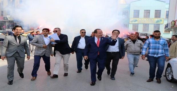 """Gürkan """"muhalif anketlerinde yüzde 55 oyumuz var!"""""""