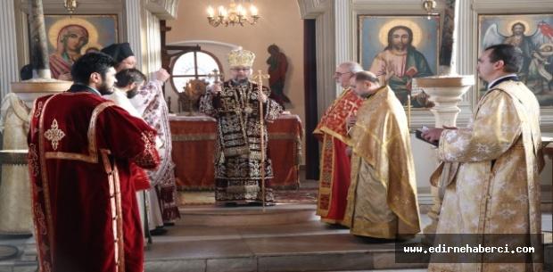 Edirne'de Noel ayini düzenlendi!