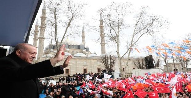 Erdoğan Edirne'de!
