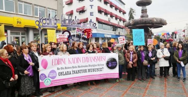 Edirne'nin yüzde 49'u kadın!
