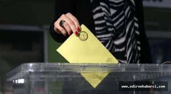 Edirne'de 312 bin 218 seçmen oy kullanacak!
