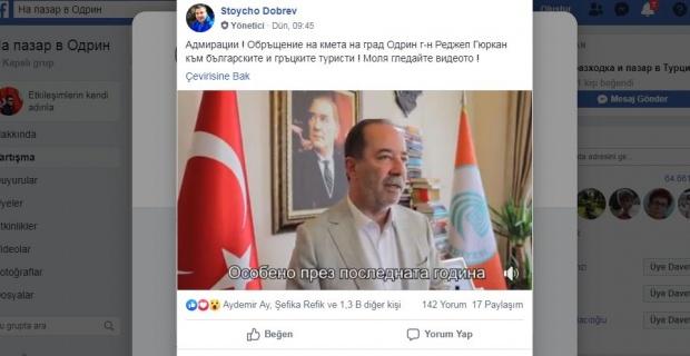 Bulgar vatandaşlardan Gürkan'a övgüler!