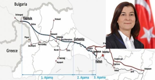 Demiryolu projesi için imzalar atıldı!