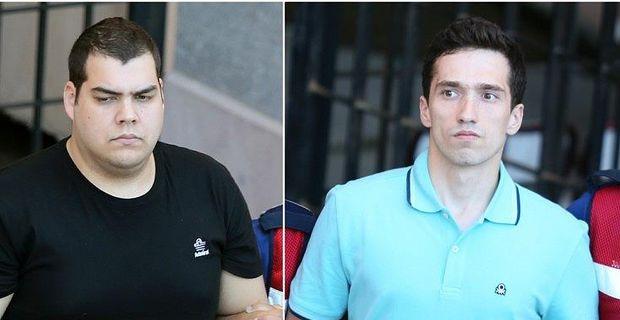 Yunan askerleri için 2 ila 5 yıl hapis istemi