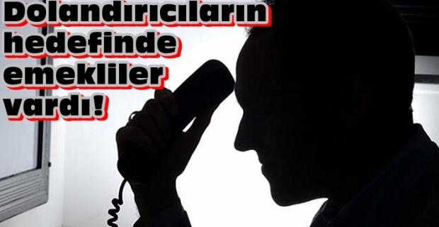 Edirne'de emeklileri kandırmışlar!