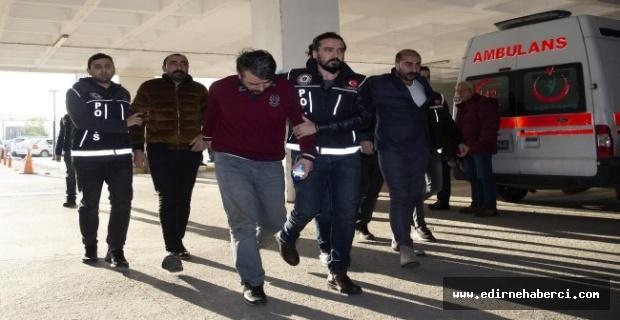 Edirne polisi Nevşehir'de operasyon yaptı!