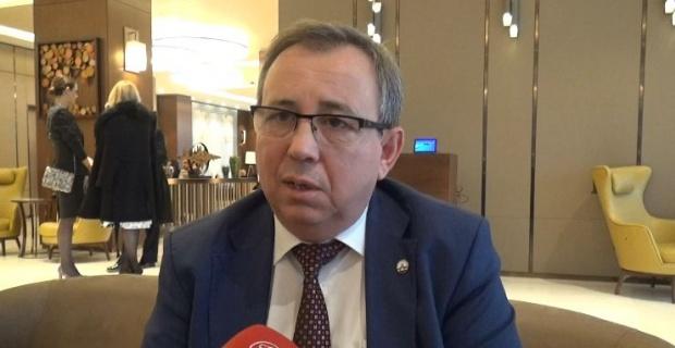 """Rektör Tabakoğlu """"çarşıya,pazara gelir gibi hastanelerimize gelecekler!"""""""
