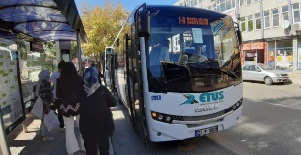 ETUS sağlık çalışanlarını ücretsiz taşıyor!