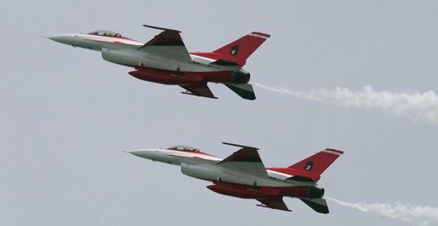 Meriç hattında savaş uçaklarımız uçtu!