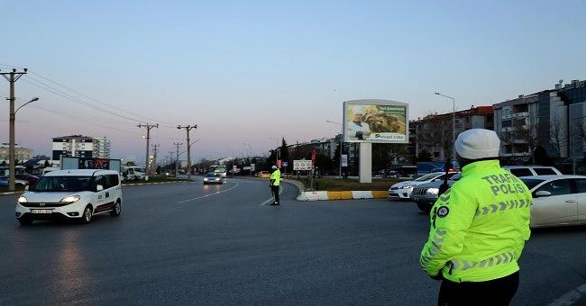 84 sürücüye 36 bin 882 lira ceza kesildi.