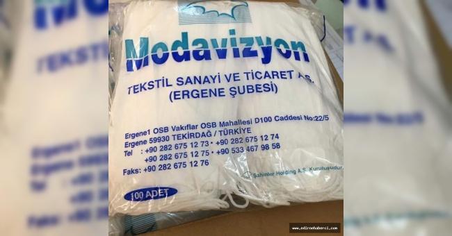 Üniversiteye Modavizyon'dan bağış!