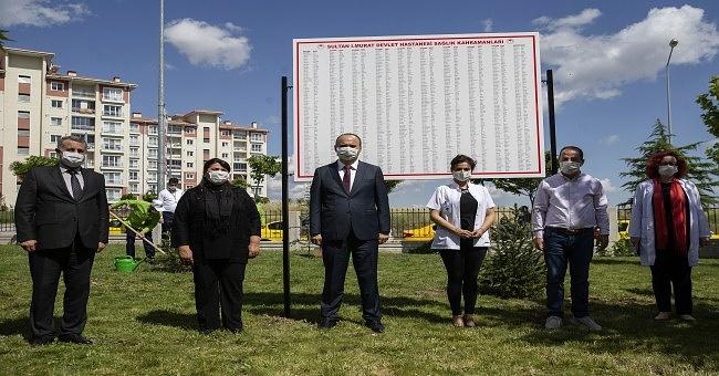 """Vali Canalp """"bir aya yakındır Edirne'de koronavirüse ilişkin pozitif vaka tespit edilmedi""""!"""
