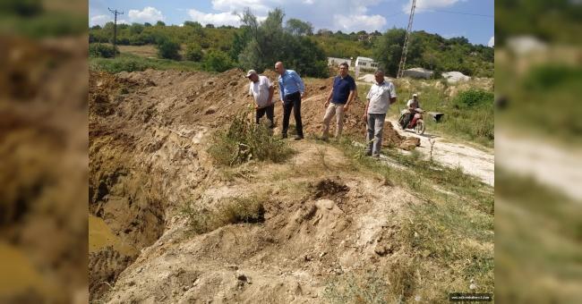 Balkan köylerinin su problemi için uğraşıyorlar!