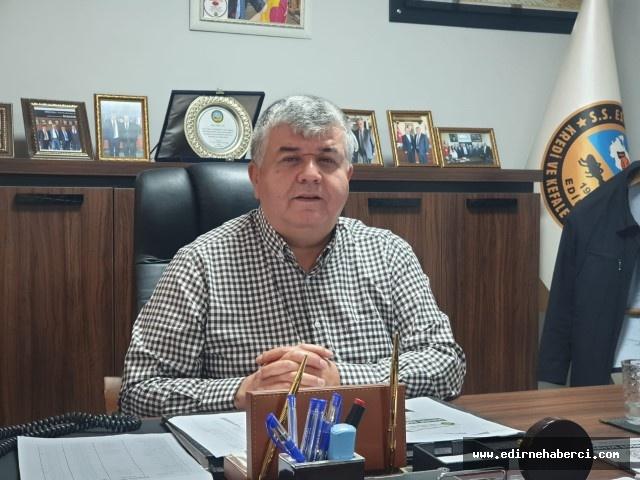 """Başkan Can """"Eğer Bulgar ziyaretçiler gelmezse esnaf olarak çökeriz, biteriz!"""""""