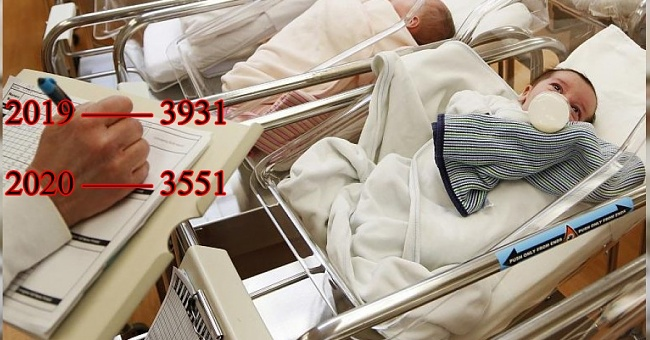 Doğum oranları düşüşte!