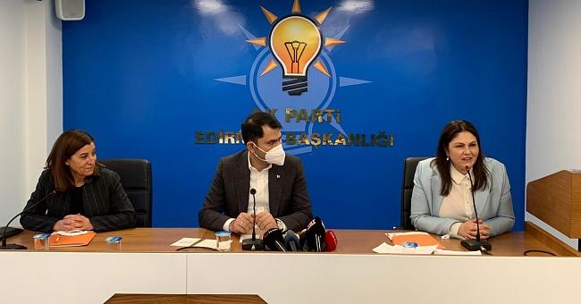 """Bakan Kurum""""Edirne'yi daha iyi noktalara taşıyacağız!"""""""