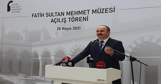 """Vali Canalp """"Edirne'yi müzelerin başşehri yapacağız!"""""""