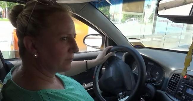 Edirne'nin tek bayan taksi şoförü!