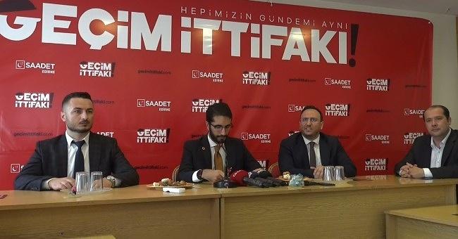 """Karaduman """"Saadet Partisi Kayıkçı kavgasına girmez!"""""""