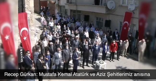 Açılış törenin de Mustafa Kemal Atatürk'ü anmadılar