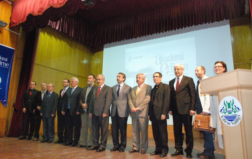 Akademi Edirne açıldı!