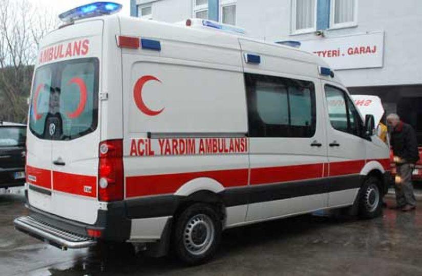 Ambulans için bağış kampanyası başlatıldı!