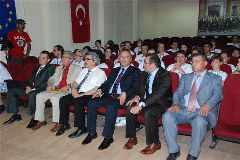 Avrupalı öğrencilere Türkiye ve Edirne tanıtıldı!