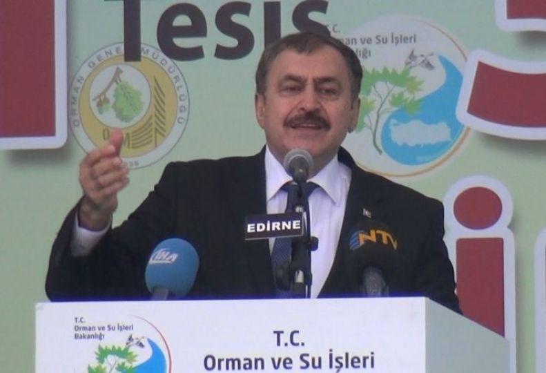 Bakan Eroğlu Ergene'de yanlış ölçüm yapıldı!