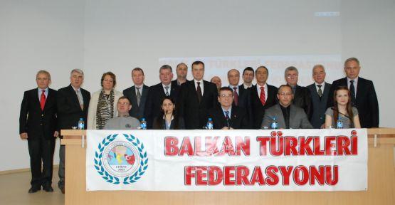 Balkan Türkleri Federasyonu Başkanlığına Hacıoğlu, yeniden seçildi!.