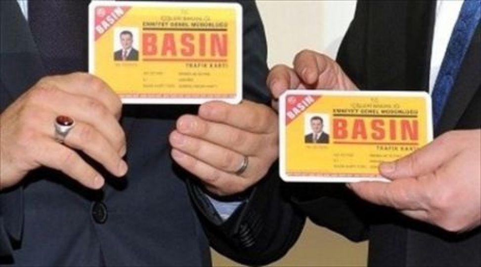Basın trafik kartları değişiyor
