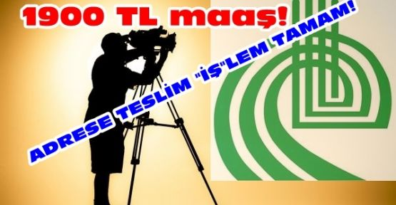 BELEDİYE'NİN KAMERAMANI HAZIR!