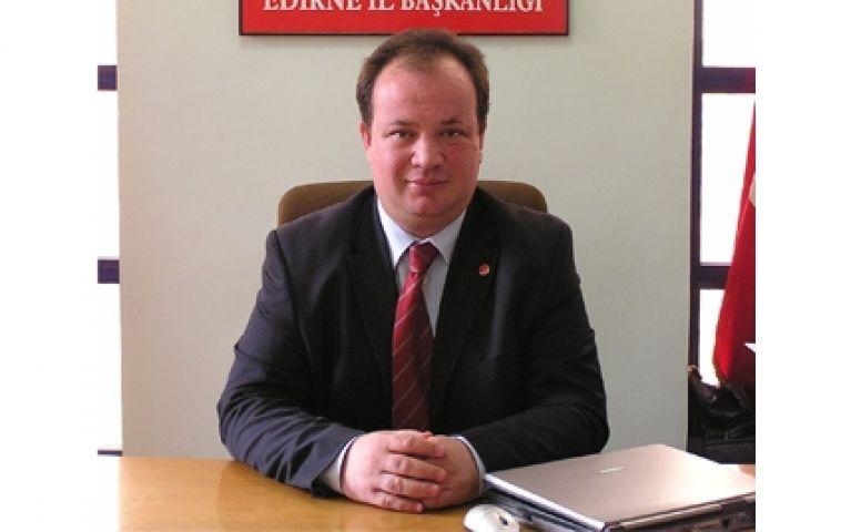 Demirkıran, yeniden Saadet Partisi Edirne İl Başkanlığına seçildi