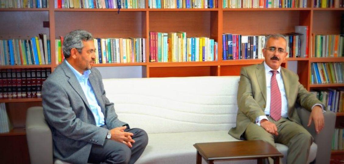 Edirne Valisi Duruer, Mimar Sinan Vakfı'nı ziyaret etti